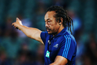Blues coach Tana Umaga must address the lack of fight from his troops at Ellis Park. Picture / Anthony Au-Yeung, Photosport