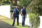 Police investigate a property in Ngatai Rd. Photo/John Borren