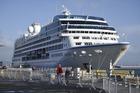 Insignia, the last cruise ship of the season. Photo/George Novak