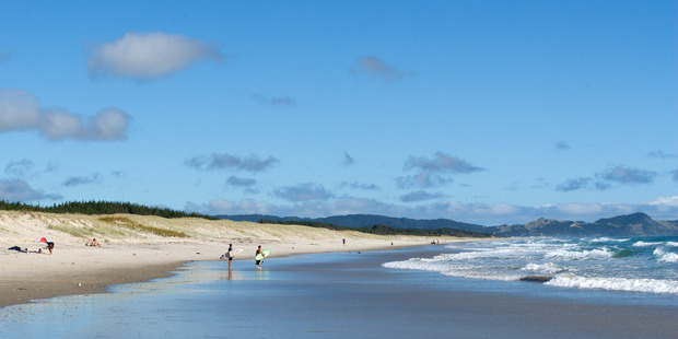 Developers backtracked after planning to move the carpark next to Te Arai Beach, near Mangawhai Heads. Photo / Supplied