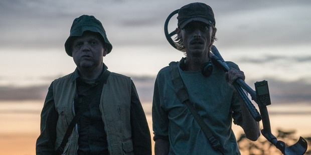 Lance and Andy in Detectorists. Photo / © BBC