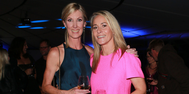 Rachel Smalley and Bernadine Oliver-Kerby at the NZ Radio Awards. Photo / Norrie Montgomery