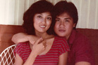Blessie and Antonio Gotingco, a young couple in love. Photo / Supplied