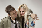 Jamie Hince and Alison Mosshart of The Kills.