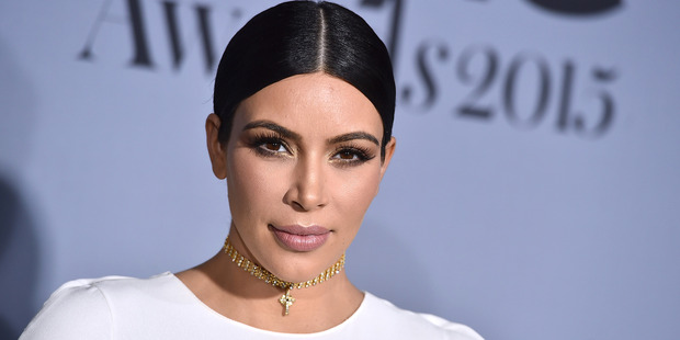 Kim Kardashian's stated commitment to the naked selfie had made her an enemy of the state. Photo / AP