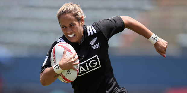 Kayla McAlister of New Zealand. Photo / Getty Images.