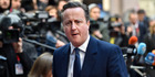 British Prime Minister David Cameron. Photo / AP