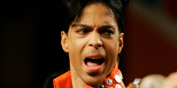 What did Prince do to make MJ call him a meanie? Photo / AP