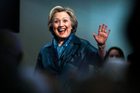 Clinton's had an awful lot thrown at her over the past quarter century. Here comes the kitchen sink. Photo / AP