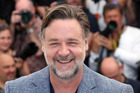 Actor Russell Crowe saved his friend from a snake that was ready to attack. Photo / AP