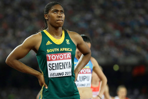 South Africa's Caster Semenya. Photo / AP