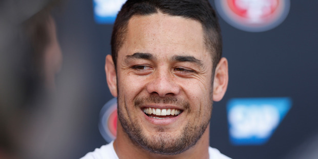 After quitting NFL franchise the San Francisco 49ers this week, Jarryd Hayne announced his intention to qualify for the Olympics. Photo / Getty Images
