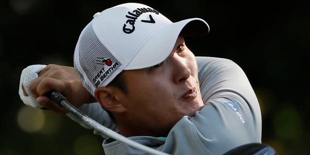 Golfer Danny Lee. Photo / AP