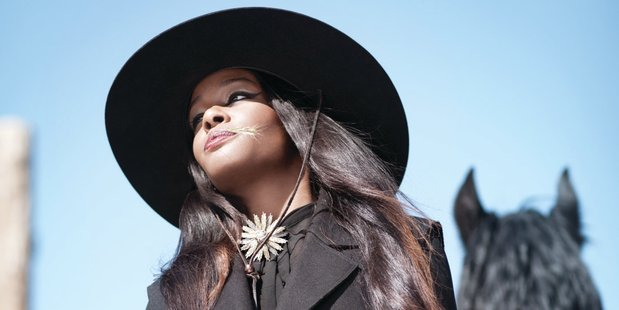 Azealia Banks has apologised after being suspended from Twitter and dropped from a festival due to her actions. Photo / Supplied