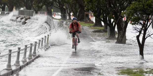 The weather is expected to turn nasty from tomorrow. Photo of previous bad weather / Brett Phibbs