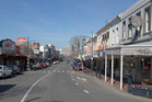 Stafford Street, the main street of Timaru, South Canterbury. Photo / Mark Mitchell
