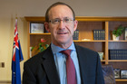 Labour Party leader Andrew Little in his office at Parliament. Photo / Mark Mitchell