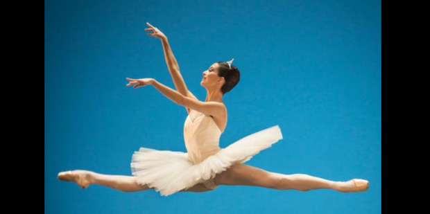 Hannah O'Neill danced the lead role in Swan Lake with the Paris Opera Ballet last year.
