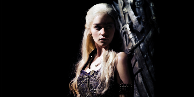 Long live the Queen; Daenerys is back in the Game of Thrones. Photo / Supplied