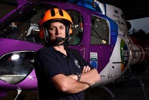 TECT Trustpower Rescue Helicopter pilot Liam Brettkelly. Photo/George Novak
