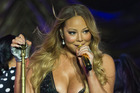 Mariah Carey says she won't be singing at her wedding because it would be 'obnoxious'. Photo / Greg Bowker