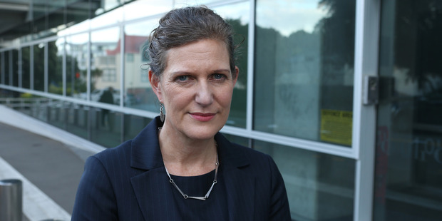 Loading SIS Director Rebecca Kitteridge outside their headquarters in Wellington. Photo / Mark Mitchell