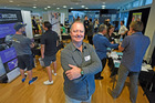 Brett Yeatman came up with the idea for pop-up business market expos, the first of which was held in Tauranga yesterday.