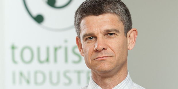 Chris Roberts, CEO of Tourism Industry Aotearoa.