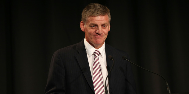 Bill English was talking not just about the Budget he will deliver next Thursday but also the one he will draw up next year, election year. Photo / Doug Sherring