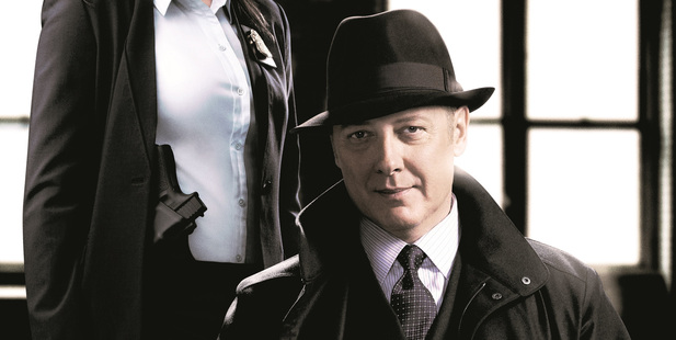 James Spader and Megan Boone in The Blacklist. Photo / Supplied