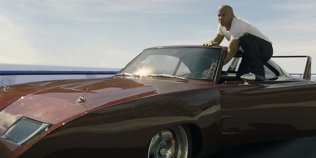 Vin Diesel stars in the Fast and Furious movies.