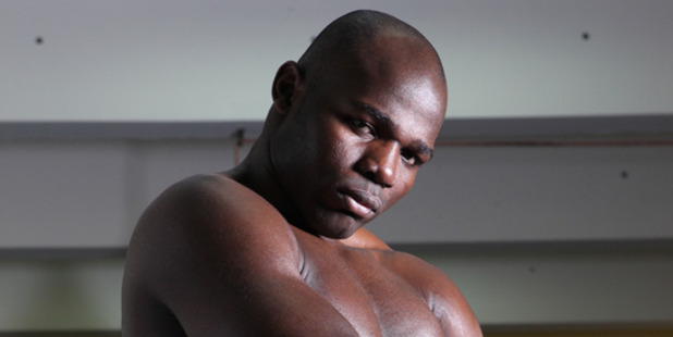 Loading Boxer Carlos Takam. Photo / Supplied.