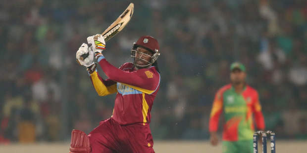 Chris Gayle of the West Indies. Photo / AP