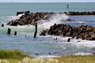 WARNING: Severe wind is expected south of Napier tomorrow. PHOTO FILE