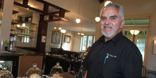 Keith Marshall, co-manager of The Lake House in Queen Elizabeth Park, Masterton. PHOTO/ANDREW BONALLACK