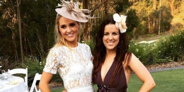 Rosie Luik (left) gave the ultimate gift to her friend Lauren Lichtnauer. Photo / Instagram, Lauren_Lichtnauer
