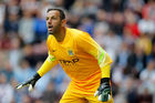 Richard Wright playing for Manchester City during a pre-season friendly. Photo / Getty