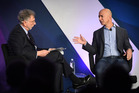 Jeffrey Bezos said Amazon is embracing the kind of technology that makes it difficult for government officials to gain access to any personal information on its devices. Photo / The Washington Post