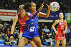 Maria Tutaia of the Mystics gains possession during a match against the Northern Mystics. Photo /Getty