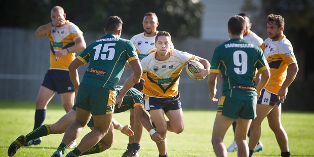 Loose forward Peter Bidois was among the Eels' tryscorers in Saturday's loss to Taniwharau. Photo / Andrew Warner