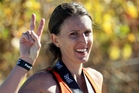 Leah Fitzgerald vows to return next year with kids after slipping on her Hawke's Bay marathon crown. Photo / Paul Taylor