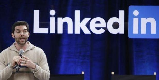 LinkedIn CEO Jeff Weiner. Picture: AP