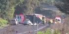 Watch: Serious crash on SH2 near Pukehina