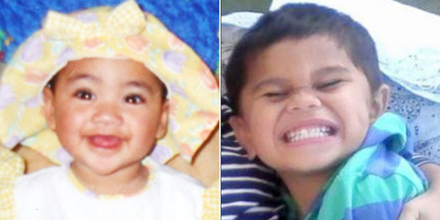 Nia Glassie, left, and Moko Rangitoheriri suffered prolonged and extensive abuse.