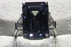A rare fancy vivid blue diamond will be auctioned in Geneva and could become the most expensive cut diamond in the world.