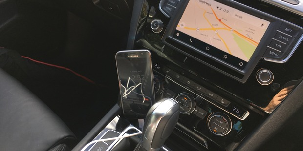 Android Auto in action. Photo / Juha Saarinen