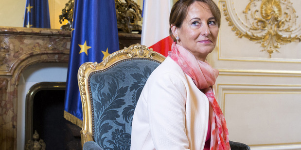 Segolene Royal, France's Energy and Environment Minister. Photo / Bloomberg