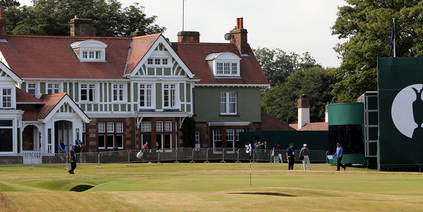 The clubhouse at Muirfield golf course. Photo / AP