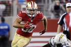 San Francisco 49ers running back Jarryd Hayne. Photo / AP