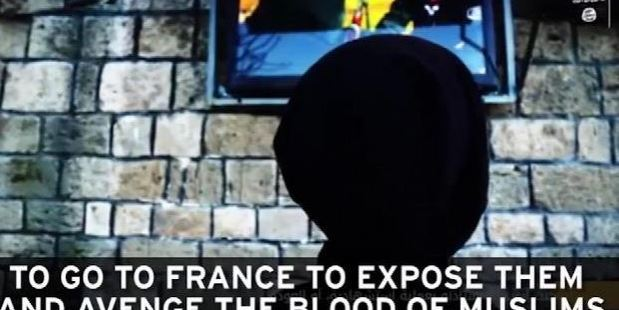 The propaganda video would be used to lure IS recruits from France. Photo: Supplied